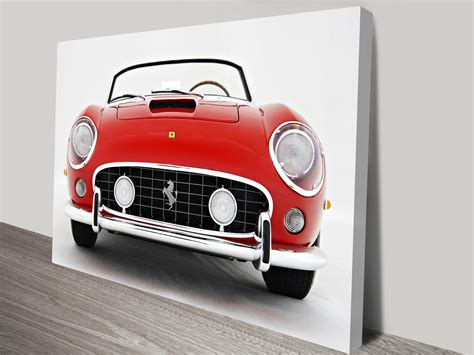 Cars Posters 250gt by 250 Gt Spyder Canvas Prints Australia
