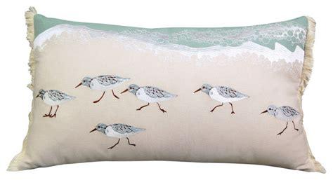 sandpiper sprint coastal lumbar pillow beach style