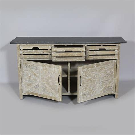 meuble cuisine bois et zinc meuble cuisine en bois modle meuble de cuisine dessus