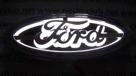 ford auto parts  ford focus emblem white led light