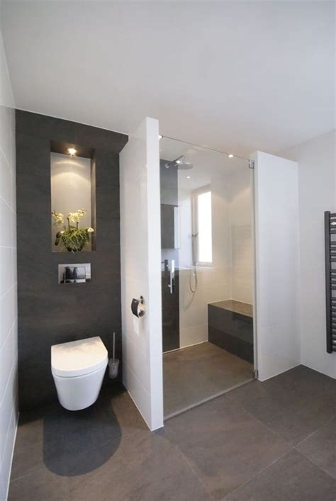 design bathroom ideas  pinterest grey modern