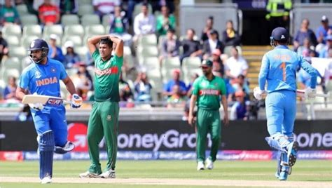 Live cricket score, live score updates of international, domestic and leagues matches. India vs Bangladesh LIVE Score, World Cup 2019: India win ...
