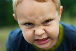 Children with Angry Faces