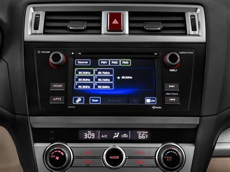 image  subaru outback  wagon audio system size