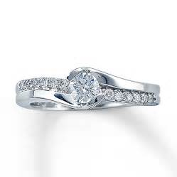 jared jewelry engagement rings jared engagement ring 12 ct tw cut 14k white gold ring diamantbilds