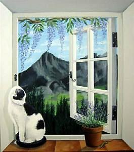 une trompe l 39 oeil fenêtre la magie que vous allez adorer