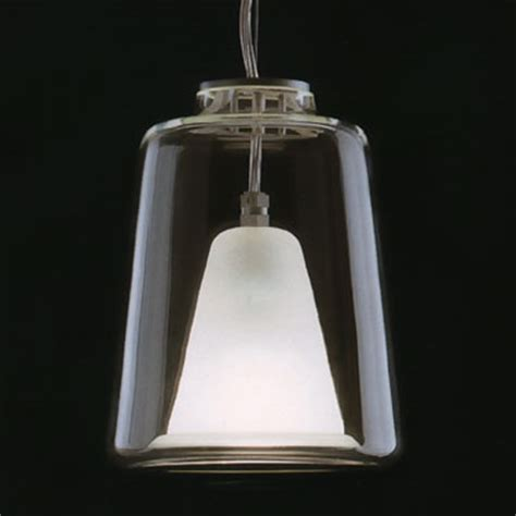 lanterna large oluce italian glass pendant lamp novacom