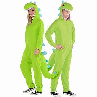Reptar Costume Piece Rugrats Zipster Costumes Adult