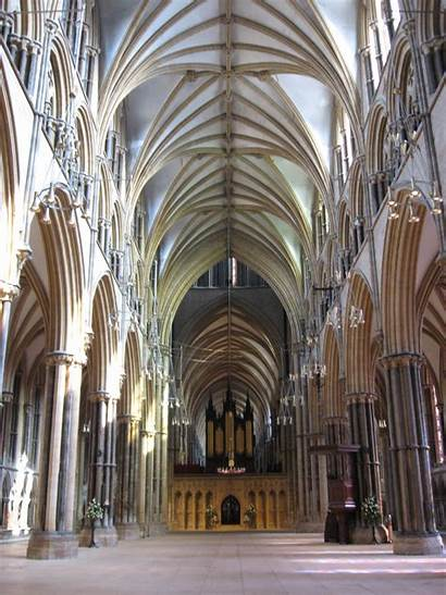 Lincoln Cathedral Hill Steep Inside Walk London