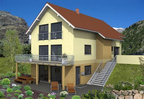 Haus Am Hang Bauen by Fertighaus Planung