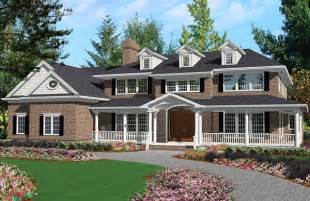 farmhouse building plans grand colonial 3100 5 bedrooms and 4 baths the house