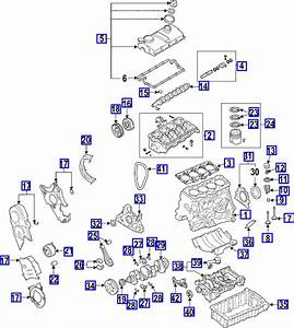 Vw Passat 2005 Model  Diesel 2 0 Litre Engine Timing Belt Schematic Diagram With Full Vw Part