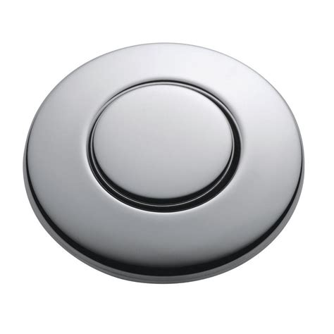 push button light switch home depot insinkerator sinktop switch push button in chrome for