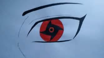 How to Draw Shisui Sharingan Eye
