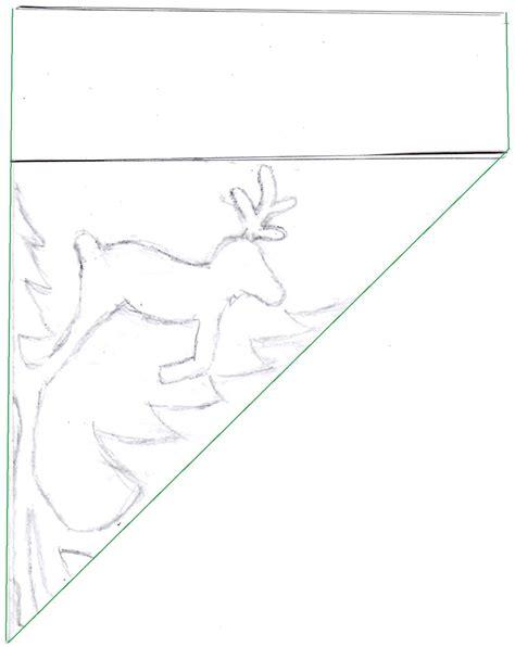 Reindeer Template by Zauberbear Reindeer Snowflake Pattern