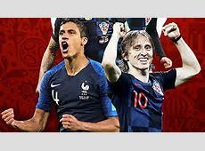 Francia vs Croacia así se jugará la Final de Rusia 2018