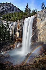 Vernal Fall Yosemite National Park