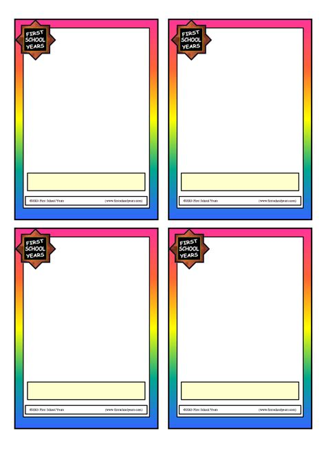 Card Blank Flash Card Template 9 Best Images Of Blank Flash Cards To Print Free