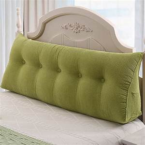 Large, Wedge, Triangle, Pillow, Bed, Headrest, Backrest, Sofa, Pillow, Cushion, Support, Pillow, Suitable