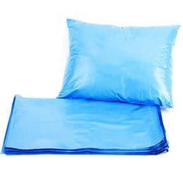 blue metallic strong plastic postage poly mailing bags