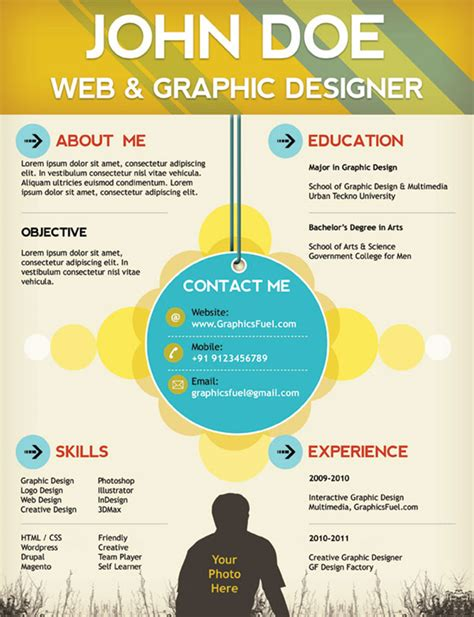 resume template psd 28 free cv resume templates html psd indesign web graphic design bashooka