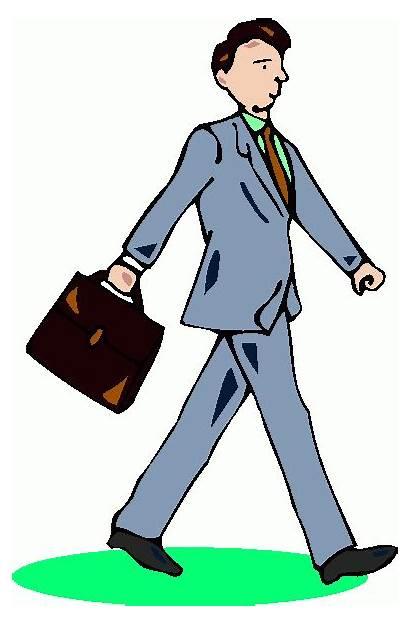 Clipart Businessman Clip Business Cliparts Briefcase Met