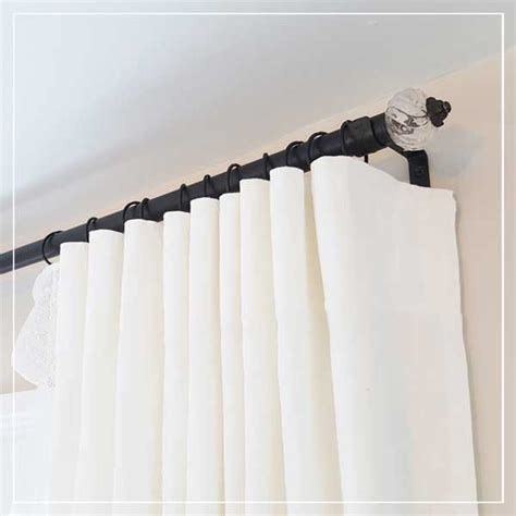 duper cheap diy electrical conduit curtain rods