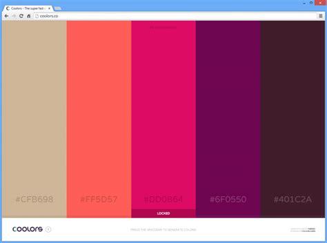 Zueinander Passende Farben by Schneller Farbschema Generator Professionelle
