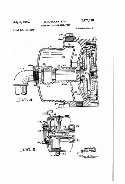 Patents Pump Shallow Well Deep Drawing