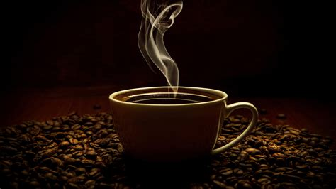 Select from premium coffee illustration of the highest quality. Coffee Cup Coffee Beans Smoke 4K Wallpaper - Best Wallpapers