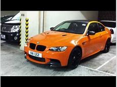BMW M3 Competition Package Fire Orange + BMW M3 w Body