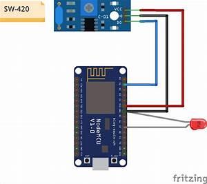 High Sensitive Wifi Fish Bite Alarm With Nodemcu Esp8266
