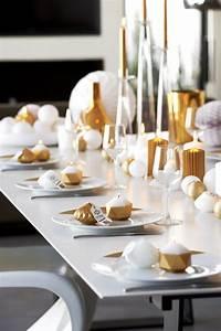 Table De Fete Decoration Noel : 5 id es d co table de no l pour gayer vos repas de f te ~ Zukunftsfamilie.com Idées de Décoration