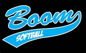 Boom Softball Logo