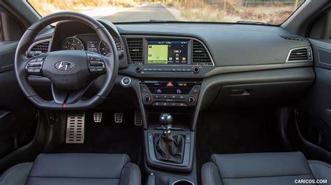 hyundai elantra sport interior cockpit hd