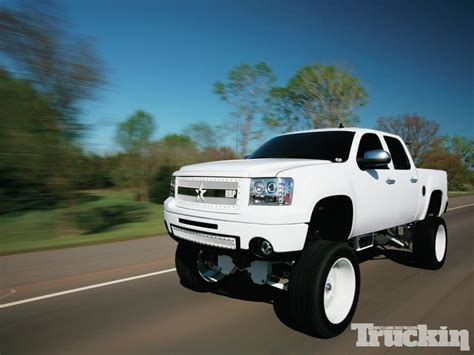 white wheels  white truck google search lifted