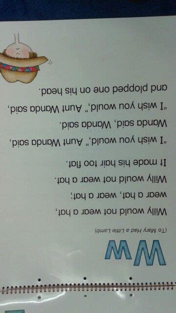 W Alliteration Poem  School Stuff Pinterest