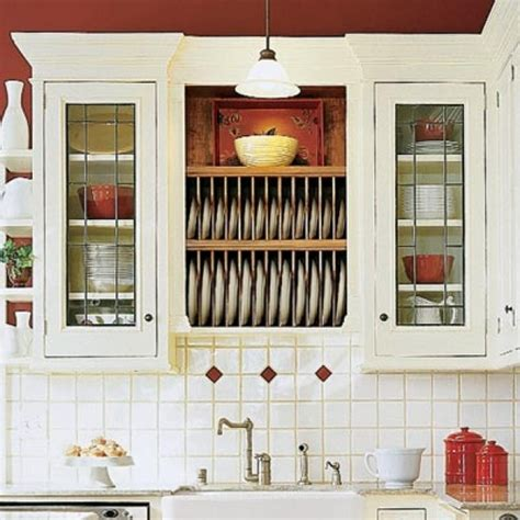 Kitchen Cabinet Plate Rack Storage Presented To Your