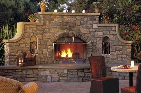 outdoor fireplace  patio picturesgreat styles