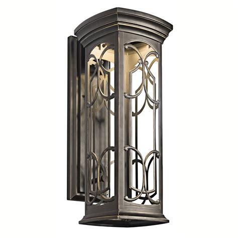 shop kichler franceasi 22 in h olde bronze sky led