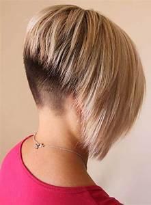 15 Cool Shaved Nape Bob Haircuts Bob Hairstyles 2018