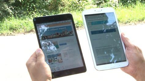samsung galaxy tab    apple ipad mini mobilecowboys youtube