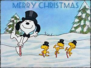Christmas with Snoopy ☆ - Christmas Wallpaper (32884389 ...