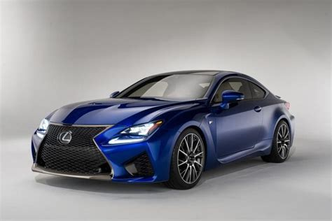 sporty lexus sedan wide grilled sporty sedans 2015 lexus rc f coupe