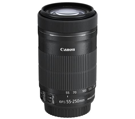 canon ef s 55 250 mm f 4 5 6 stm is telephoto zoom lens deals pc world