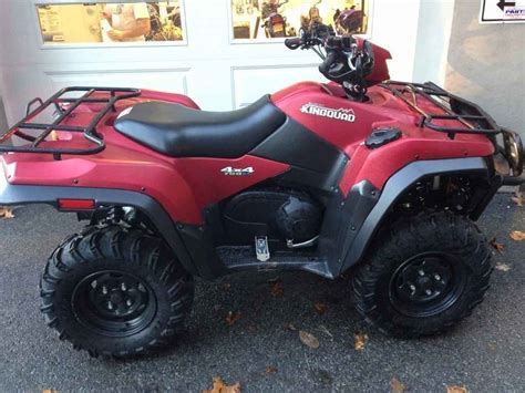 Suzuki Four Wheeler For Sale by Used 2013 Suzuki Kingquad 750axi Power Steering 30th