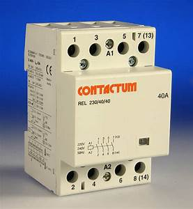 4 Pole Contactor Wiring Diagram