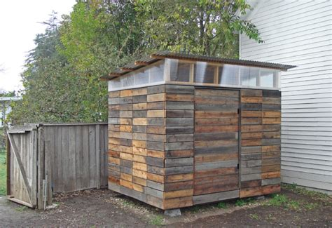 Cheap Shed Siding Ideas by Petaluma Studio