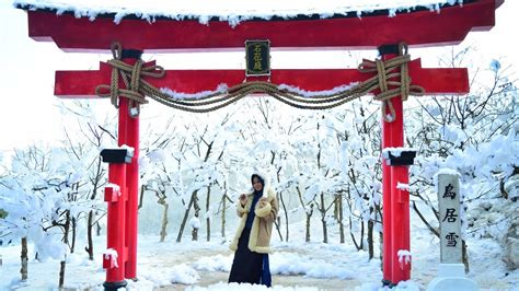 wisata salju ala jepang  batu flower garden coban rais