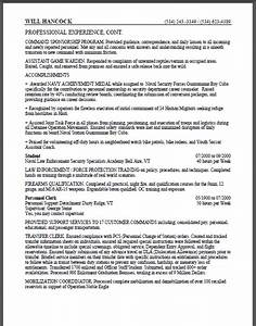 military to federal resume sample certified resume With how long should a federal resume be
